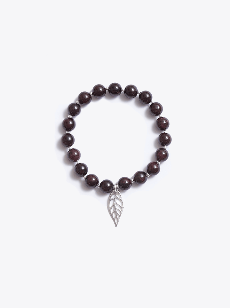 Made By Yogis Mala bracelets Healing Intentions Garnet Root Chakra Bracelet