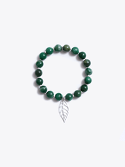 Healing Intentions Green African Jade Heart Chakra Bracelet - Made By Yogis - £45.00