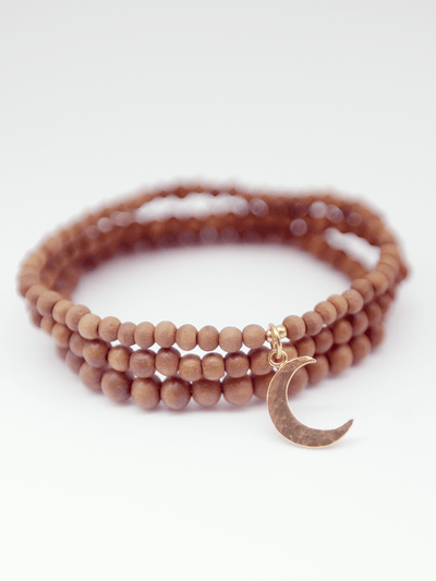 MIND Charity Fundraising Mala Bracelet Stack - Made By Yogis - £29.95