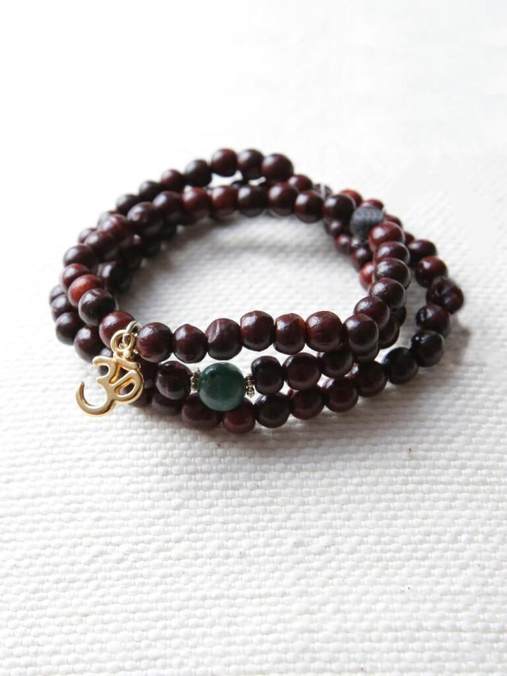 OURMALA Charity Fundraising Mala Bracelet Stack - Made By Yogis - £29.95