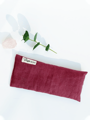 The Affordable Grey Recycled Yoga Mat Bundle + Plain Linen Lavender Eye Pillow - YogaClicks - £47.52