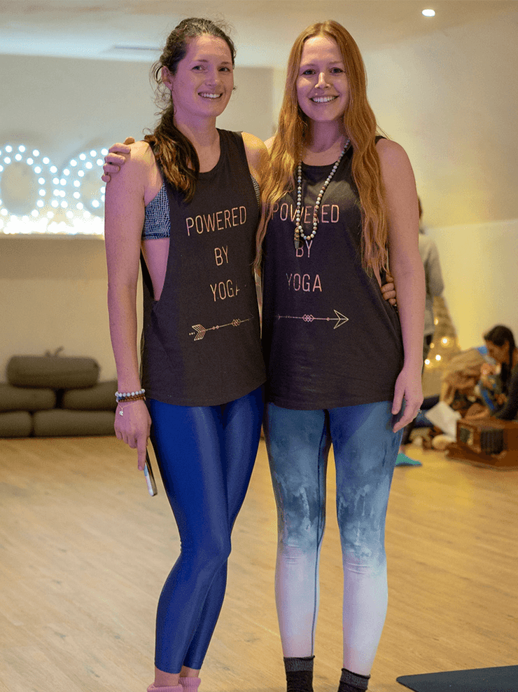 Made By Yogis Tanks Powered By Yoga Tank Top - Organic Cotton Bamboo