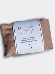 Breathe Embroidered Lavender Wheat Bag - YogaClicks - £29.95