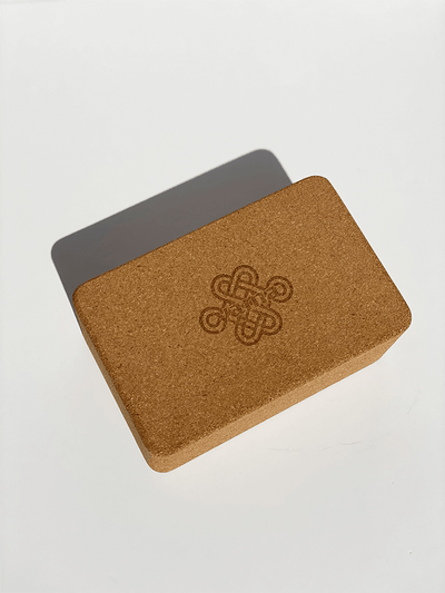 Cork Yoga Block - Made By Yogis - £14.14