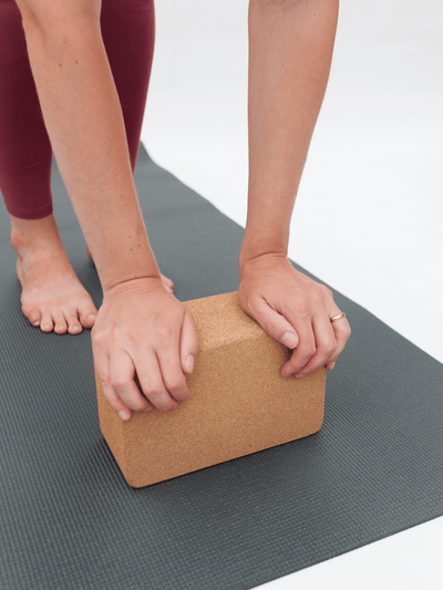 Made By Yogis Yoga Blocks & Bricks Natural Cork Yoga Block
