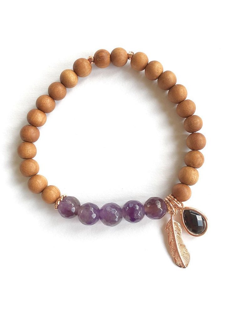 Malatopia Mala bracelets Awareness Mala Bracelet
