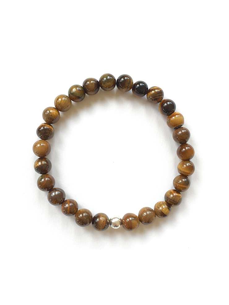 Malatopia Mala bracelets Courage + Protection Men's Mala Bracelet