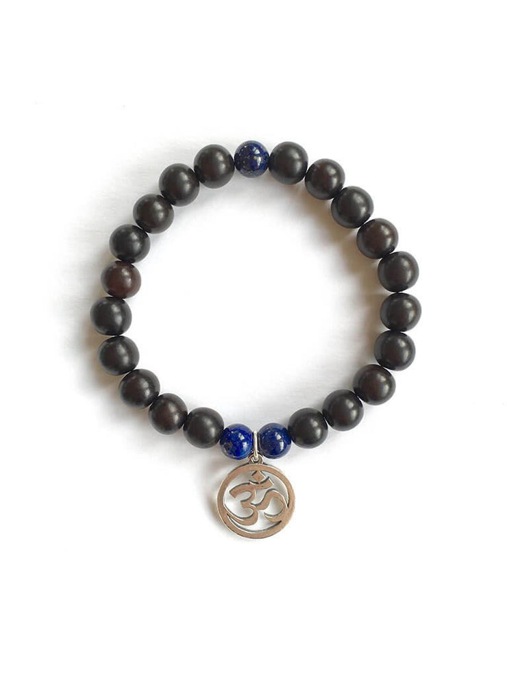 Wisdom Warrior Men's Mala Bracelet - Malatopia - £32.00