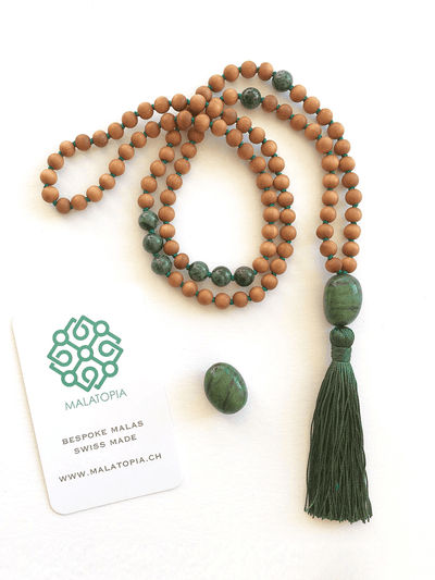 Balance & Stability Mala Necklace - Malatopia - £123.00