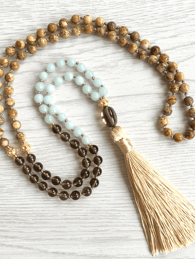 Malatopia Mala necklaces Multi Harmony Mala Necklace