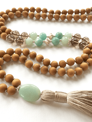 Malatopia Mala necklaces One Size / Blue Sattvika Mala Necklace