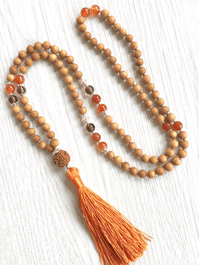 Malatopia Mala necklaces Orange Svadhisthana Mala Necklace