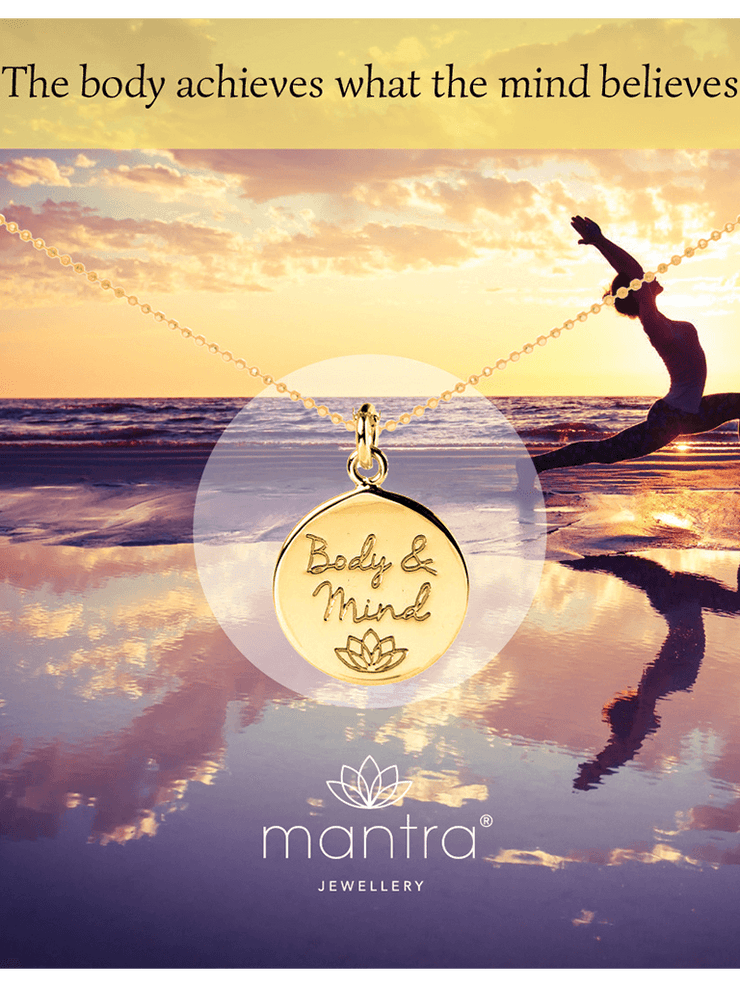 Mantra Jewellery Spiritual necklaces Body & Mind Pendant