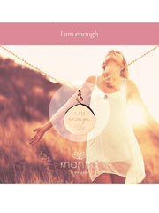 I Am Enough Necklace - Mantra Jewellery - £55.00