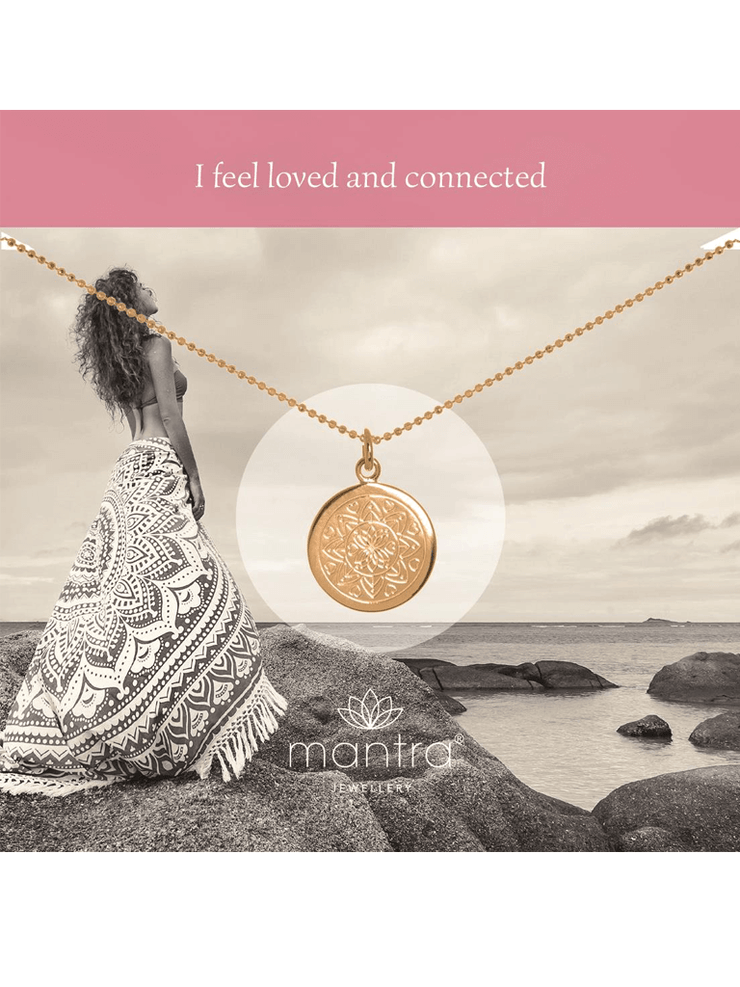 Mantra Jewellery Spiritual necklaces Love Mandala Necklace