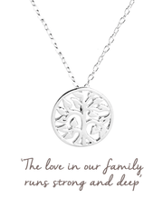 Family Tree Necklace - Mantra Jewellery - £30.00