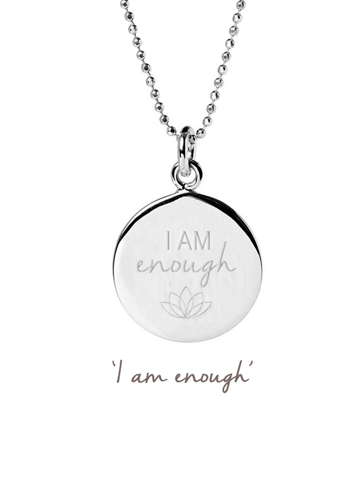 I Am Enough Necklace - Mantra Jewellery - £45.00