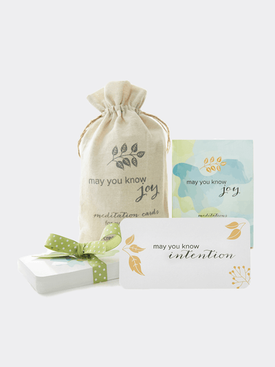 Meditation Cards - May You Know Joy - £22.50