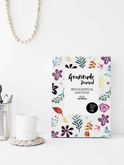 Gratitude Journal - 100 Days Of Gratitude - Natalie Fox - £11.00