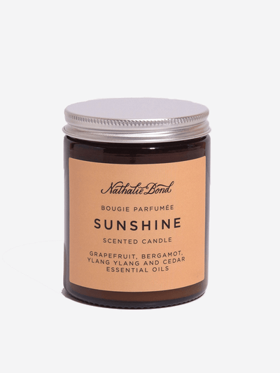 Soy Candle - Sunshine - Nathalie Bond - £19.50
