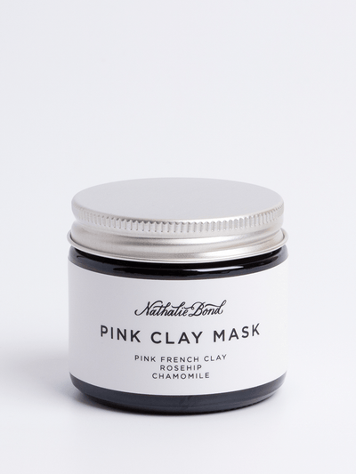Pink Clay Face Mask - Nathalie Bond - £17.50
