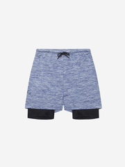 OHMME Shorts 2-Dogs Lined Yoga Shorts for Men