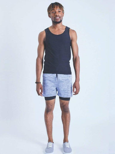 2-Dogs Lined Yoga Shorts for Men - OHMME - £45.00
