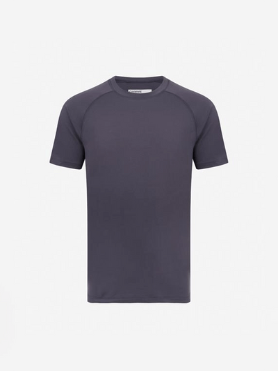 OHMME T-Shirts Small / Grey Pulse SS Yoga T-Shirt