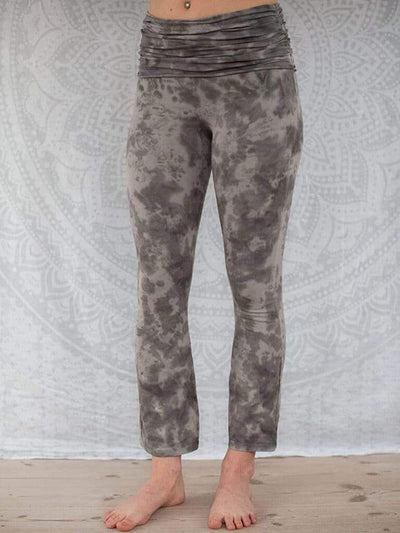 Half Moon Long Organic Yoga Leggings - Pawpaw Yoga Wear - £62.00