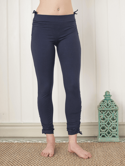 Long Pigeon Organic Yoga Pants - Pawpaw Yoga Wear - £58.00