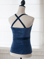 Blue Mountain Organic Yoga Tank Top - Pawpaw Yoga Wear - £36.00