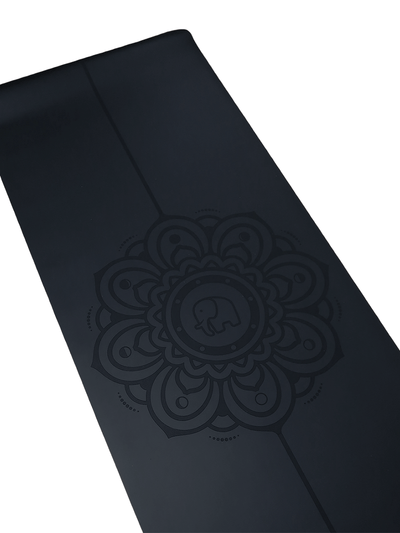 Phantai Yoga Mats Black Moon Mandala Yoga Mat
