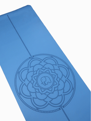 Phantai Yoga Mats Blue Travel Mandala Yoga Mat