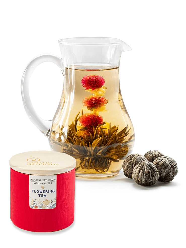 Sanatio Naturalis Tea Flowering Tea Caddy