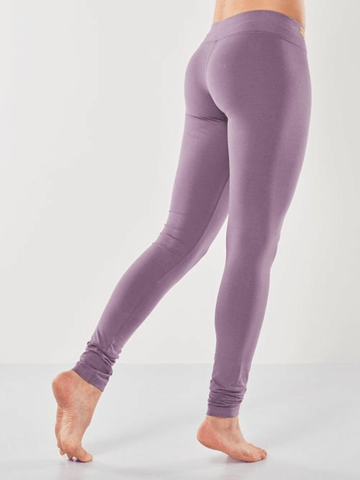 Shaktified Organic Yoga Leggings - Jungle Orchid