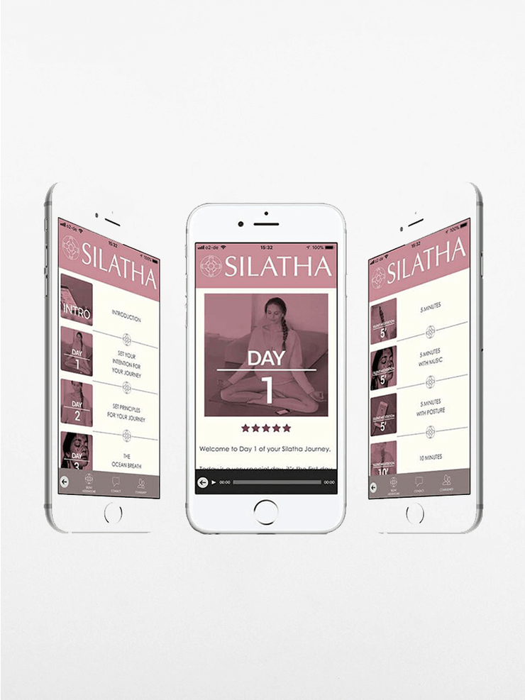 Silatha App The Meditation App: A 21-Day Guided Meditation Course