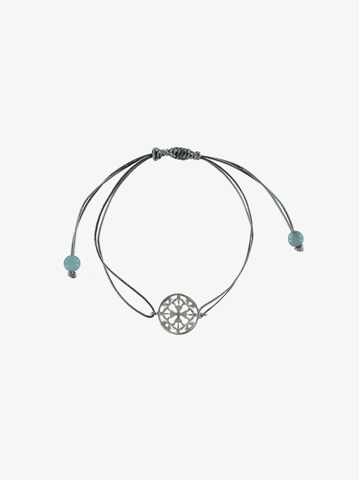 Silatha Spiritual bracelets Blue Flow and Relief - Aquamarine Bracelet & Meditation App