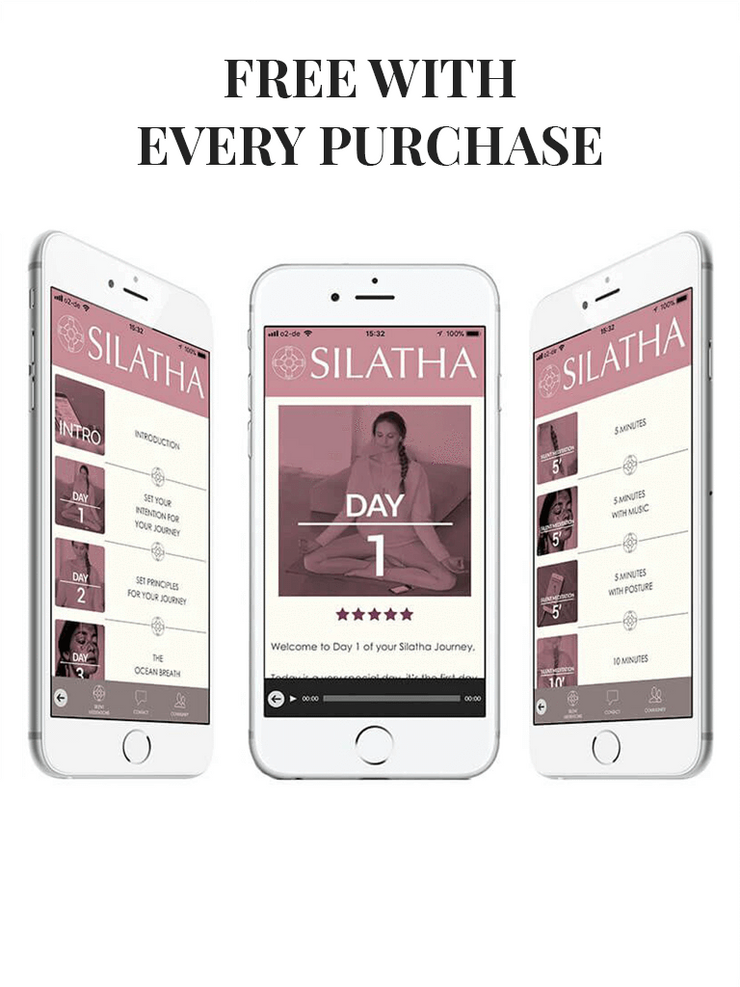 Silatha Spiritual necklaces Emotional Stability & Letting Go - Gemstone Necklace & App
