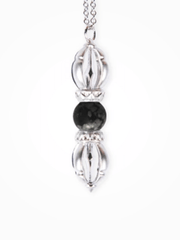 Silatha Spiritual necklaces White Gold Embracing Grief - Gemstone Necklace & App