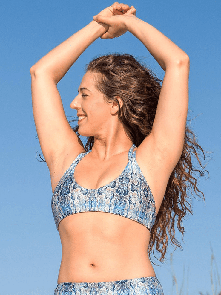 SoloSol Movement Bra Tops Vista Yoga Bra Top - Mamba Print