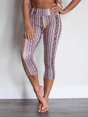 SoloSol Movement Capris Sol Yoga Capri Yoga Pants - Revival