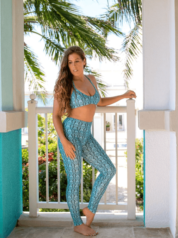SoloSol Movement Pants & Leggings Alta Yoga Leggings - Amazon Print