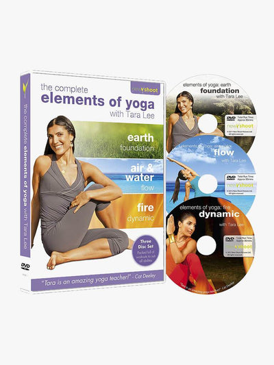 Tara Lee Yoga DVDs Elements of Yoga: The Collection with Tara Lee (3 Disc Set) Box Set