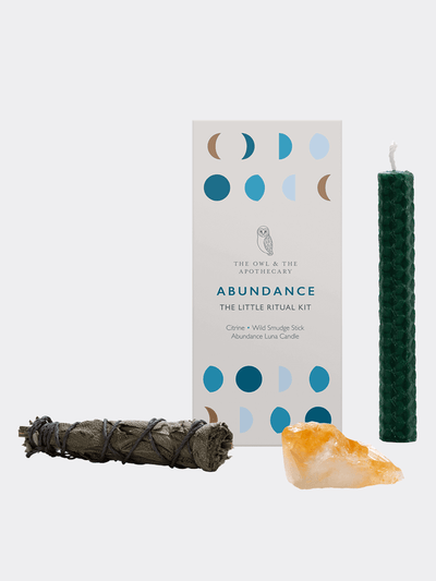 Abundance - The Little Ritual Kit - The Owl & The Apothecary - £29.99