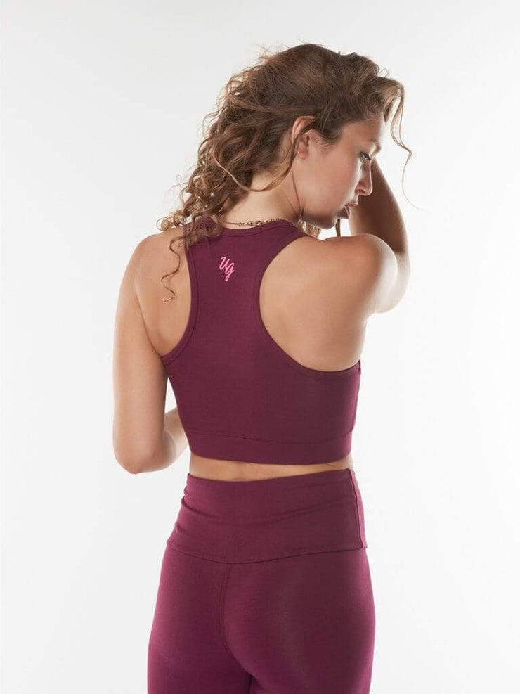 Ananda Yoga Bra Top - Urban Goddess - £45.95