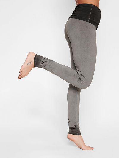 Shaktified Organic Yoga Leggings - Urban Roots - Urban Goddess - £64.95