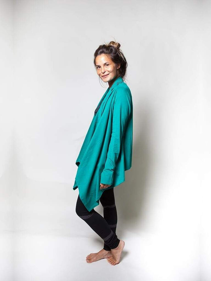Wrap Me Up Organic Yoga Top - Urban Goddess - £64.95