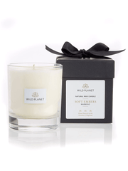 Wild Planet Candles Soft Embers Luxury Aromatherapy Soy Candle - Clove, Cedarwood & Sweet Orange
