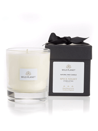 Wild Planet Candles Spice Night Luxury Aromatherapy Soy Candle - Black Pepper, Nutmeg & Lemongrass