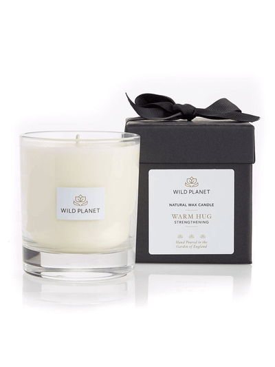 Wild Planet Candles Warm Hug Luxury Aromatherapy Soy Candle - Patchouli, Cedarwood & Vetiver